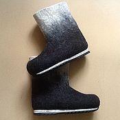 Обувь ручной работы. Ярмарка Мастеров - ручная работа Валенки без рисунка.. Handmade.