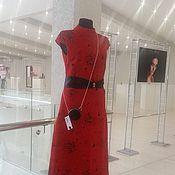 """Одежда ручной работы. Ярмарка Мастеров - ручная работа Платье """"Пламя страсти"""". Handmade."""