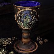 Посуда handmade. Livemaster - original item Blue Cup
