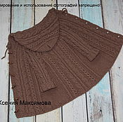 Работы для детей, handmade. Livemaster - original item knitted coats for girls I`m a Princess. Handmade.