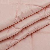 Материалы для творчества ручной работы. Ярмарка Мастеров - ручная работа Курточная стеганая  ткань  розовая  BARBOUR. Handmade.