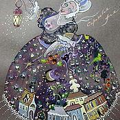 Картины и панно ручной работы. Ярмарка Мастеров - ручная работа Сиреневая фея. Handmade.