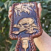 Сумки и аксессуары handmade. Livemaster - original item Men`s handmade leather wallet. Handmade.