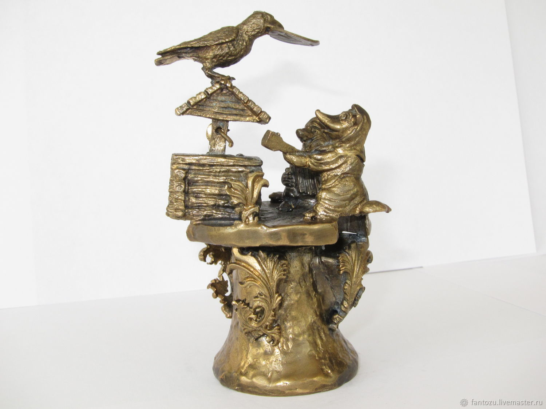 Bronze bell-the Crow and the Fox, Kolokolchiki, Yaroslavl,  Фото №1