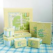 Подарки к праздникам ручной работы. Ярмарка Мастеров - ручная работа Мамины сокровища для мальчика на 10 коробочек. Handmade.