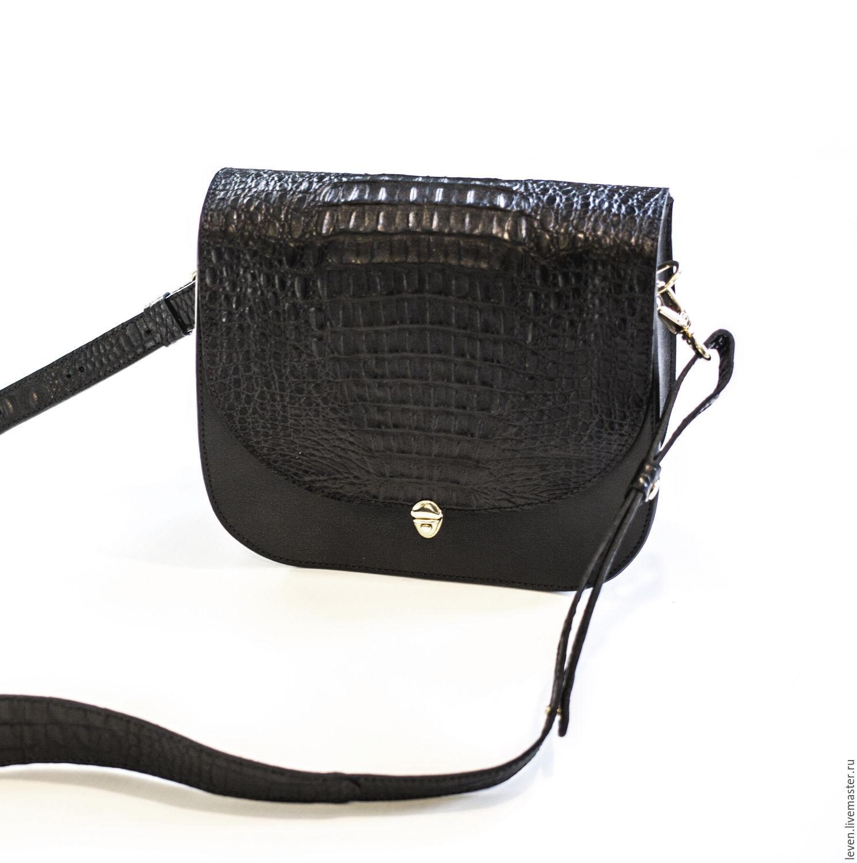 d1363b8b45aa Leven · Женские сумки ручной работы. Небольшая кожаная сумка кросс-боди со  сменной крышкой. Leven