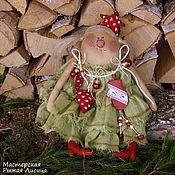 Куклы и игрушки ручной работы. Ярмарка Мастеров - ручная работа Девочка Ёлка (2). Handmade.