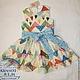 Одежда для девочек, ручной работы. Ярмарка Мастеров - ручная работа. Купить Платье с Сердечками (вышивка). Handmade. Платье для девочки, кихтенко