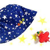 """Работы для детей, ручной работы. Ярмарка Мастеров - ручная работа Панама детская """"Звезды"""". Handmade."""