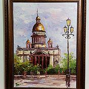 Картины и панно handmade. Livemaster - original item Oil painting framed size 47h37 cm.. Handmade.