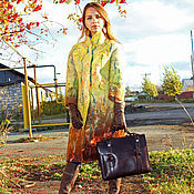 Одежда handmade. Livemaster - original item Felted coat