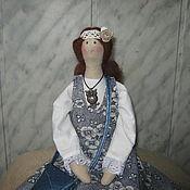 Куклы и игрушки ручной работы. Ярмарка Мастеров - ручная работа Тильда в стиле бохо. Handmade.