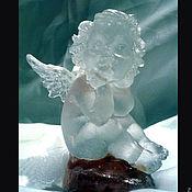 """Для дома и интерьера ручной работы. Ярмарка Мастеров - ручная работа """"Ангел """" из хрусталя. Handmade."""