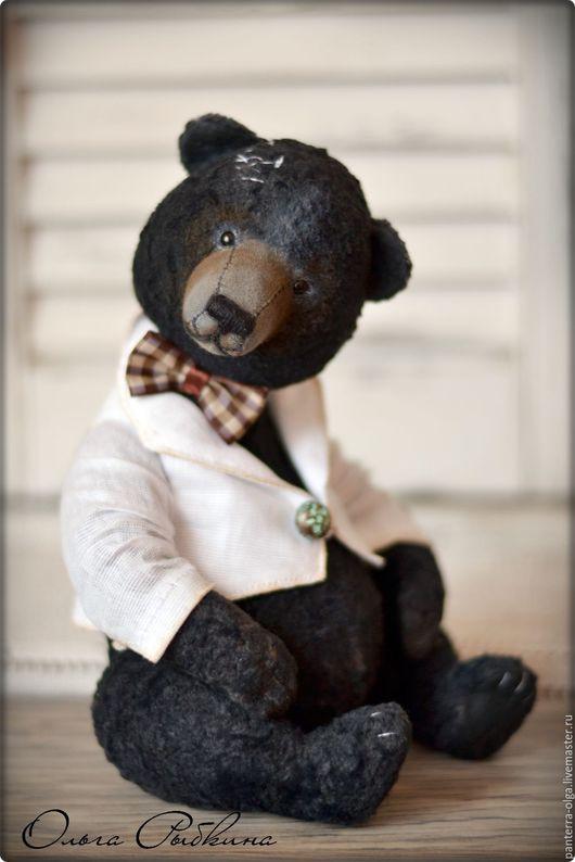 Мишки Тедди ручной работы. Ярмарка Мастеров - ручная работа. Купить Мо,авторский мишка тедди  (26 см). Handmade.