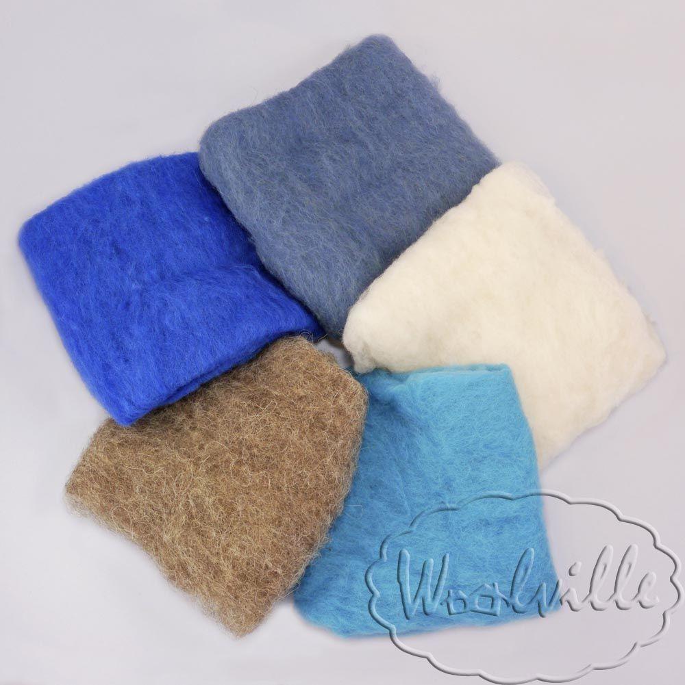 Наборы шерсти для валяния (разные наборы шерсти для валяния) – заказать на Ярмарке Мастеров – 7KLP9RU | Шерсть, Москва