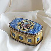 Для дома и интерьера ручной работы. Ярмарка Мастеров - ручная работа Винтажная шкатулка в стиле барокко. Handmade.