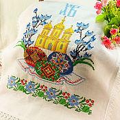 Для дома и интерьера handmade. Livemaster - original item Easter napkin