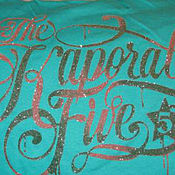 Винтаж handmade. Livemaster - original item Vintage clothing: Turquoise top of the French brand Kaporal. Handmade.