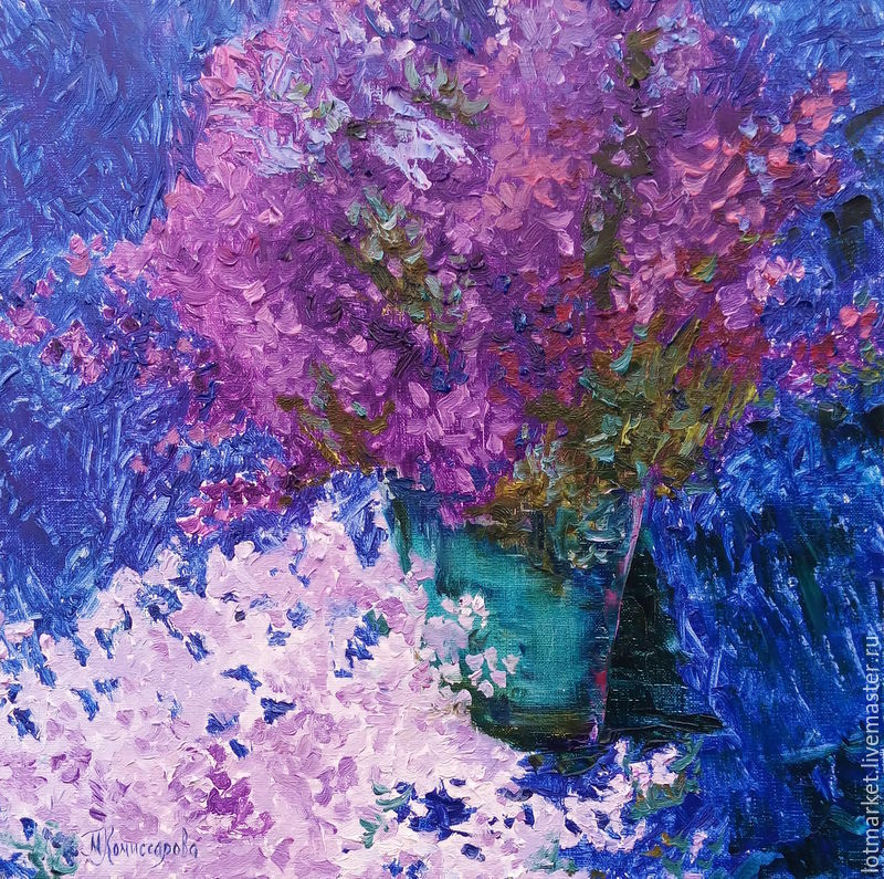 Flower Paintings handmade. Livemaster - handmade. Buy picture Bouquet.Oil painting, painting on canvas