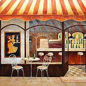 """Картины и панно ручной работы. Ярмарка Мастеров - ручная работа Картина """"Траттория"""". Handmade."""