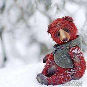 Куклы и игрушки ручной работы. Ярмарка Мастеров - ручная работа Rei мишка-тедди Рей. Коллекционный авторский медведь. Handmade.