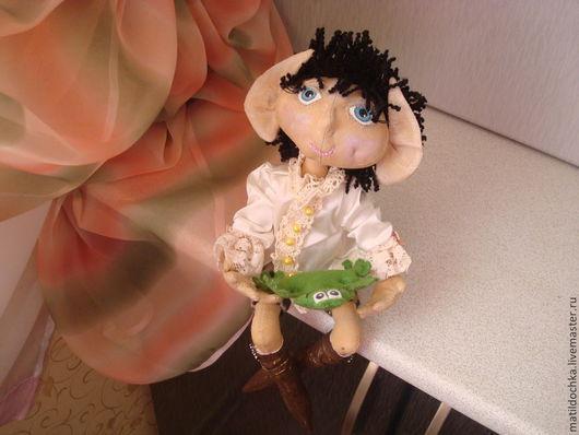 Ароматизированные куклы ручной работы. Ярмарка Мастеров - ручная работа. Купить Кукла Эльф-мечтатель. Handmade. Кукла ручной работы