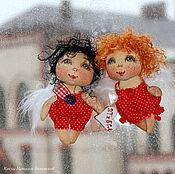 Куклы и игрушки ручной работы. Ярмарка Мастеров - ручная работа Валентинки - подарочки для любимых:)). Handmade.