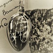 Сувениры и подарки handmade. Livemaster - original item Silver teaspoon