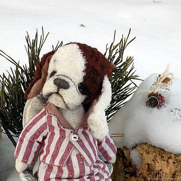 Куклы и игрушки ручной работы. Ярмарка Мастеров - ручная работа Кевин ШпАниэль, собака спаниель Тедди. Handmade.