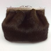 Сумки и аксессуары handmade. Livemaster - original item Clutch mink. Handbag made of fur.. Handmade.
