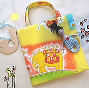 Doll houses handmade. Livemaster - original item Handbag-house for doll babies. Handmade.