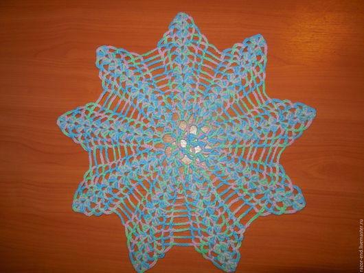 """Текстиль, ковры ручной работы. Ярмарка Мастеров - ручная работа. Купить Ажурная салфетка """"Daydream"""". Handmade. Комбинированный, Салфетка вязаная"""