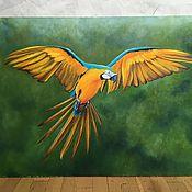 """Картины ручной работы. Ярмарка Мастеров - ручная работа """" Солнечная птица"""". Handmade."""