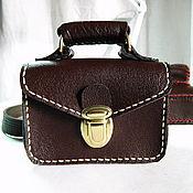 Сумки и аксессуары handmade. Livemaster - original item PORTFELIS. Leather business card holder for good luck in business. Handmade.