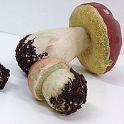 Для дома и интерьера ручной работы. Ярмарка Мастеров - ручная работа Гриб белый(фигурка белого гриба, лесной грибок.Скульптура ботаническая. Handmade.