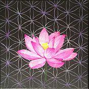 """Картины и панно ручной работы. Ярмарка Мастеров - ручная работа Картина """"Цветок жизни"""". Handmade."""