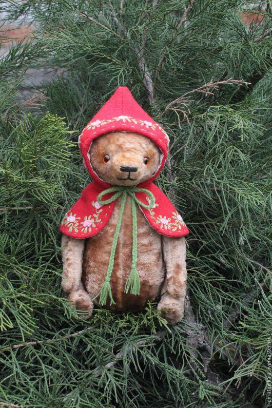 Мишка ручной работы. Коллекционный мишка . Плюшевый мишка.  Handmade .Купит мишку Тедди Подарок на 8-е марта. Винтажный Мишка Тедди.