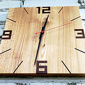 Для дома и интерьера handmade. Livemaster - original item Clock made of wood