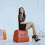 Для дома и интерьера handmade. Livemaster - original item Poof-handbag. Handmade.