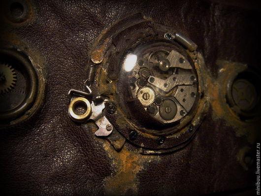 """Браслеты ручной работы. Ярмарка Мастеров - ручная работа. Купить Кожаный браслет """"Rust"""". Handmade. Кожаный браслет, потертый"""