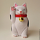 kimekomi коллекционные японские куклы купить магазин коллекционные куклы ручной работы в москве кимэкоми кимекоми японский кот с поднятой лапой манэки нэко японские манящие коты купить