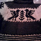 Одежда handmade. Livemaster - original item Sweater mens Village. Handmade.