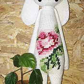 """Куклы и игрушки ручной работы. Ярмарка Мастеров - ручная работа Зайка """"РИТА"""". Handmade."""