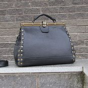 Сумки и аксессуары handmade. Livemaster - original item Women`s leather bag DIANA black. Handmade.