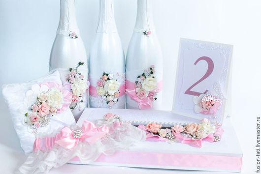 Свадебные аксессуары ручной работы. Ярмарка Мастеров - ручная работа. Купить Розовая пудра. Handmade. Розовый, пудровый, очаг
