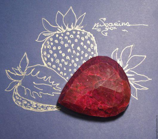 Для украшений ручной работы. Ярмарка Мастеров - ручная работа. Купить Крупный рубин натуральный, 566,5 карата (Африка). Handmade.