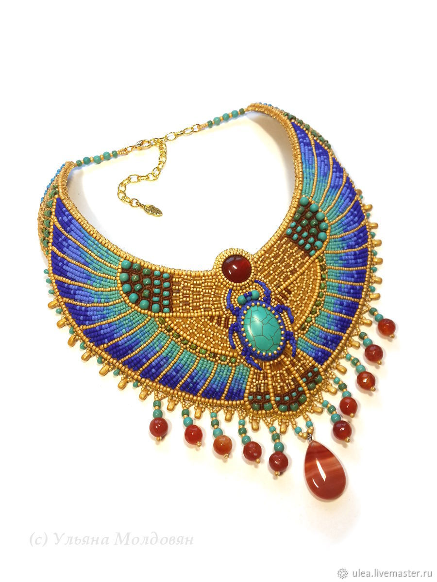Necklace in Egyptian style, Necklace, St. Petersburg,  Фото №1