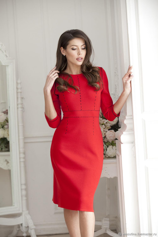 Dress 'Red Jasper', Dresses, St. Petersburg,  Фото №1