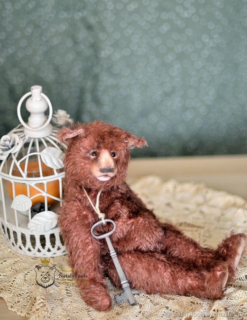 Teddy bear romantic Valentine collectible author's Teddy bear, Teddy Bears, Kurgan,  Фото №1