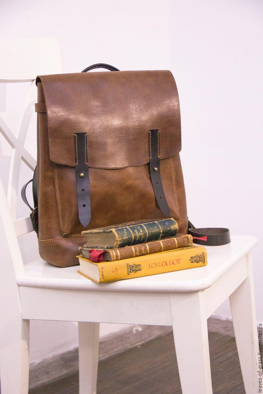 6f12be21507c Рюкзаки ручной работы. Ярмарка Мастеров - ручная работа. Купить Рюкзак  кожаный